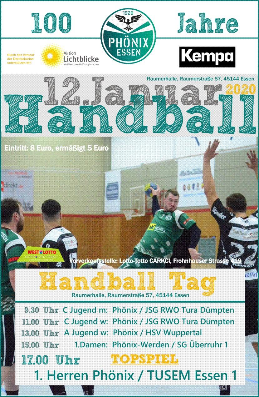 Sc Phonix Essen 1920 E V Handball